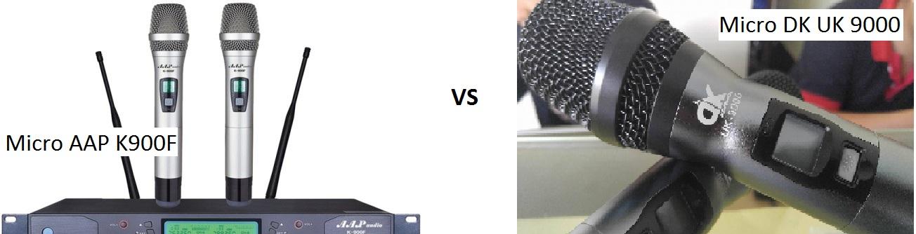 So sánh micro DK và Micro AAP