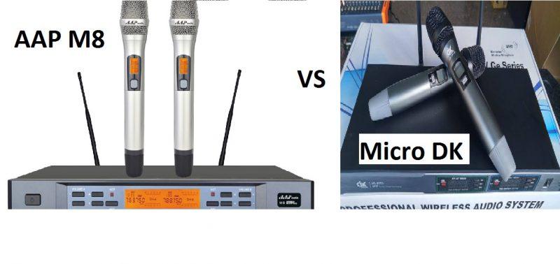 so sánh micro DK và AAP