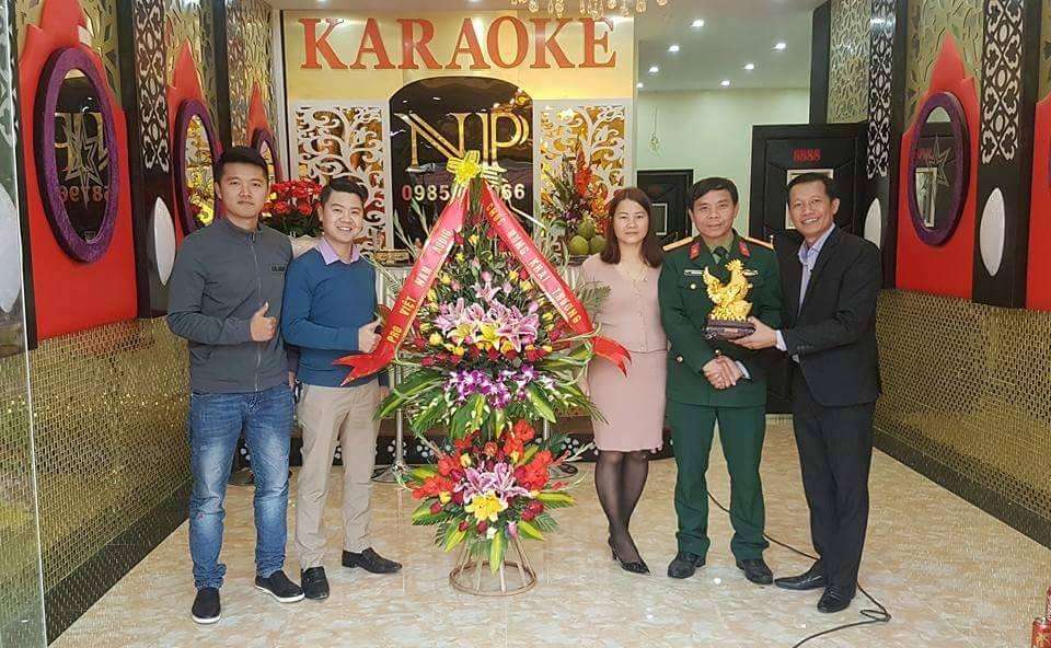 dự án lắp đặt phòng karaoke