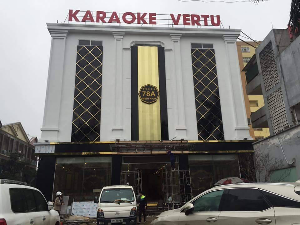 dự án lắp đặt karaoke vertu