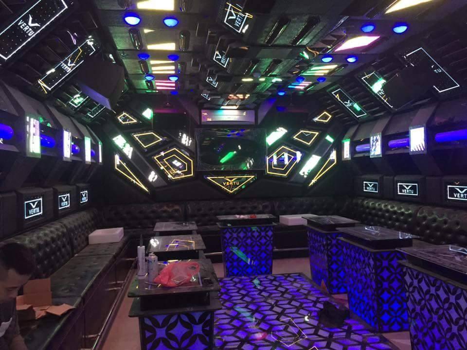 lắp đặt quán hát karaoke