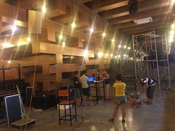 Dự án lắp đặt hệ thống dàn âm thanh cho quán Pub ở Tp. Vinh