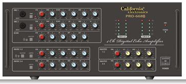 ampli-Karaoke-california-Pro-668B