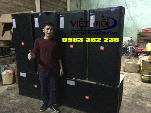 Dự án có sử dụng loa srx 728 cho khách hàng tại Quảng Bình