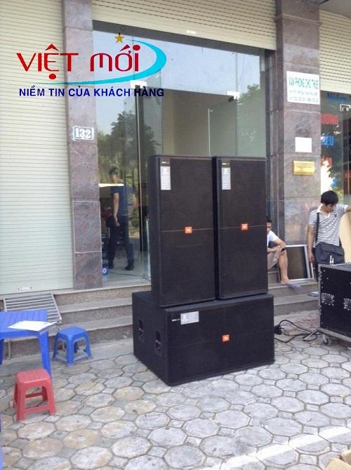Dự án âm thanh cho anh Quỳnh tại Nghệ An
