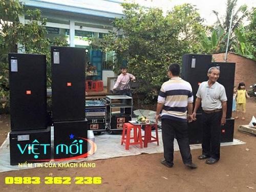 Dàn âm thanh có JBL 725 cho anh Quỳnh tại Nghệ An -1