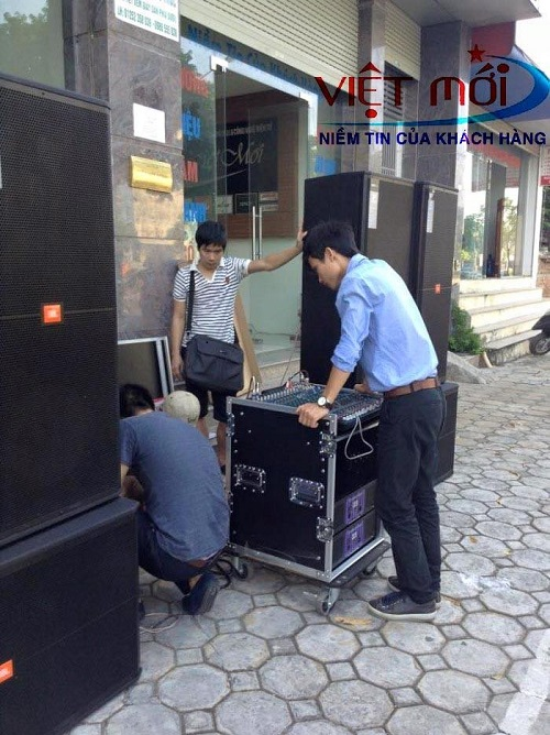 Dàn âm thanh có JBL 725 cho anh Quỳnh tại Nghệ An -2
