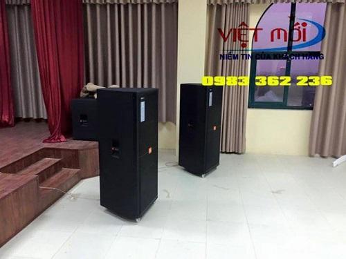 Loa JBL SRX 725 cho dự án âm thanh tại Gia Lâm