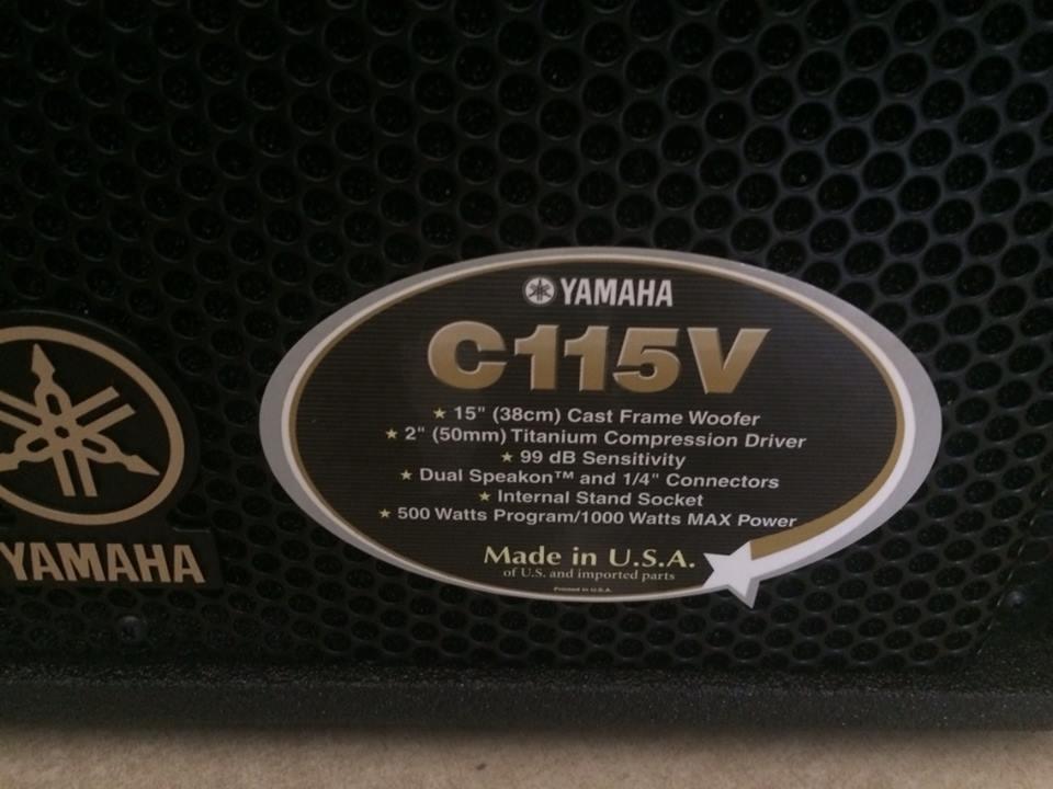 Hình ảnh loa yamaha S115V