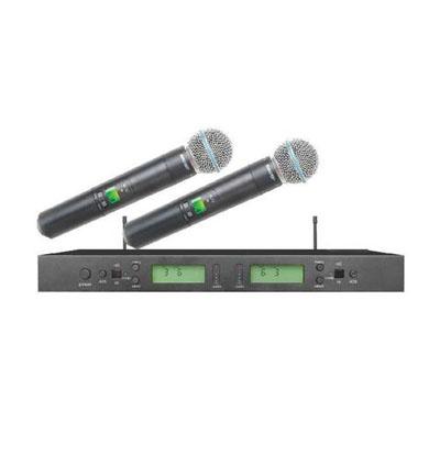 Micro không dây Shure UR4D UR4S chính hãng nâng tầm giọng hát