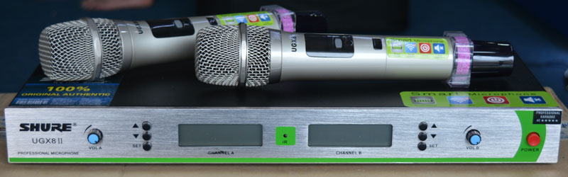 Micro Shure UGX8 II