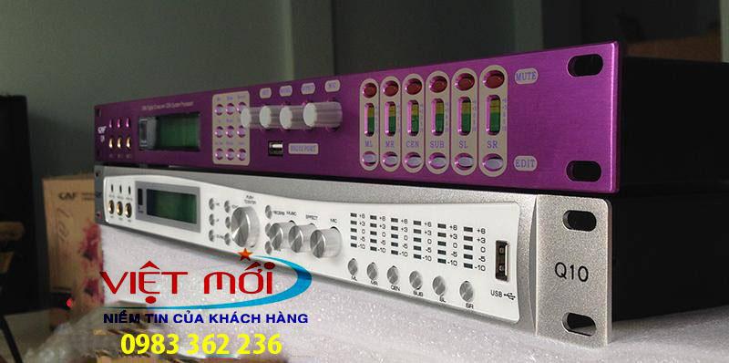 bàn mixer tạo vang CAF Q10, Q8 -1