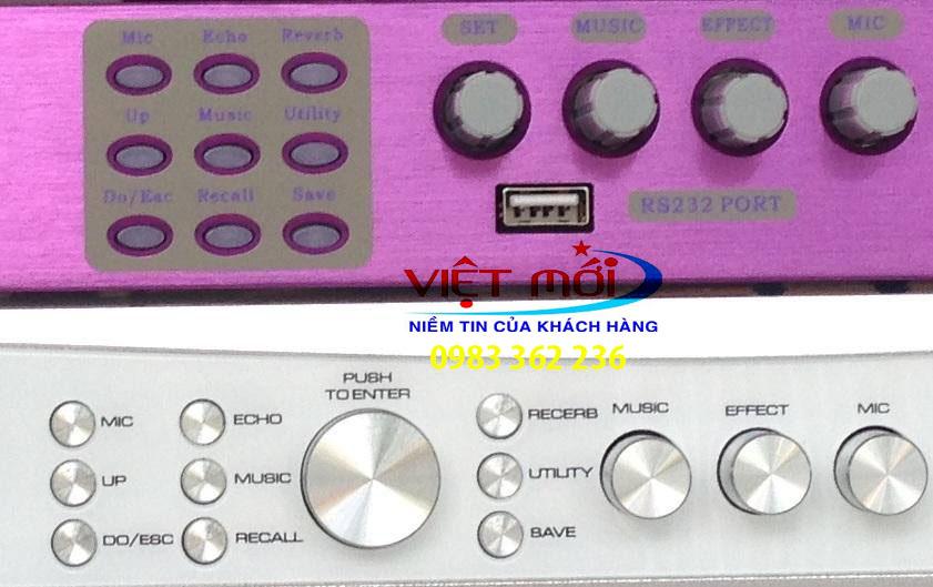 Nút vặn của 2 sản phẩm