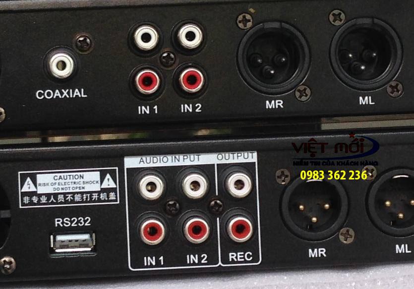 bàn mixer tạo vang CAF Q10, Q8 -2