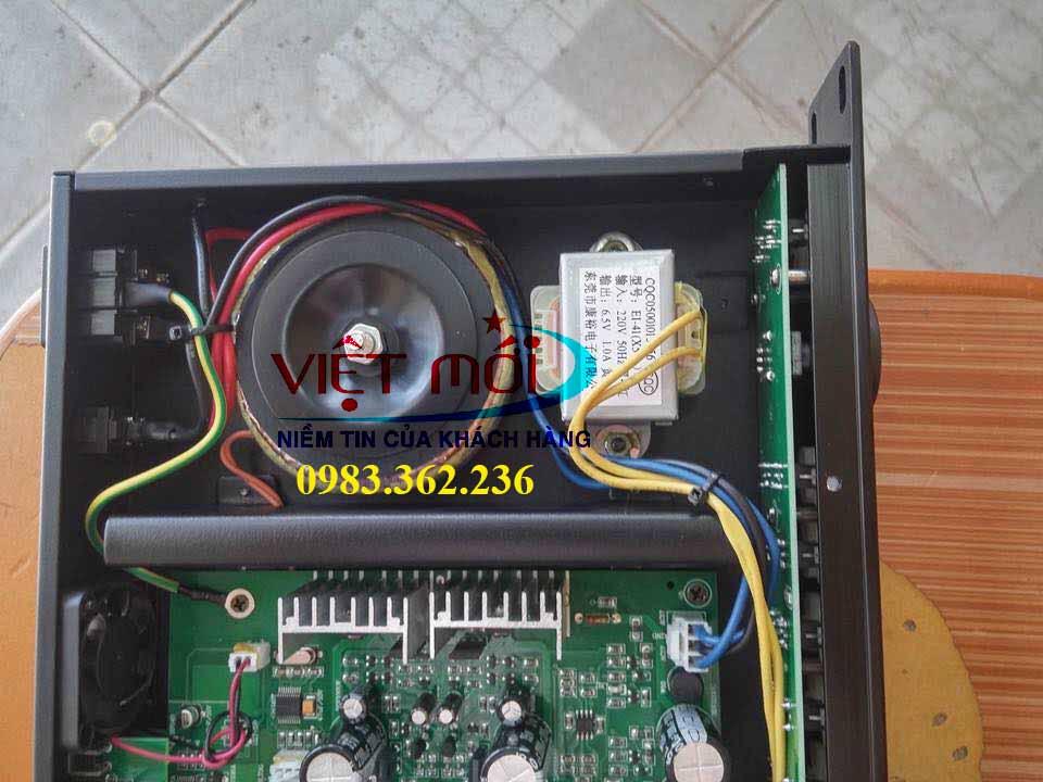 bàn mixer karaoke pdcj x5 -5