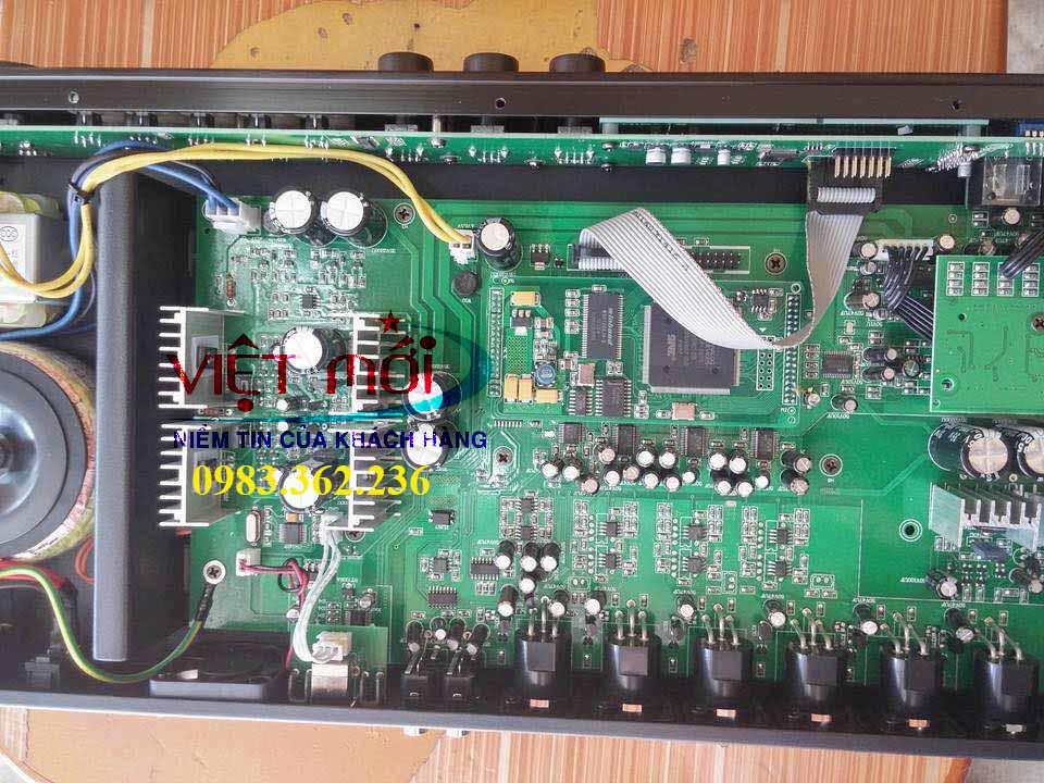 bàn mixer karaoke pdcj x5 -4