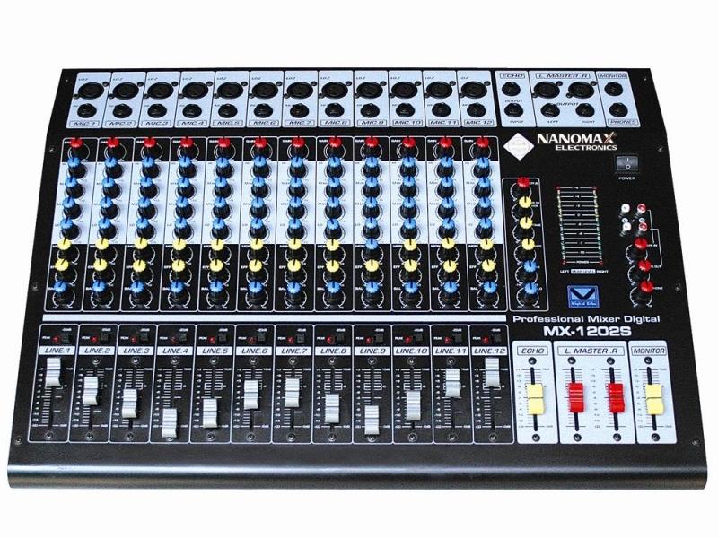 Mixer nanomax mx1206s