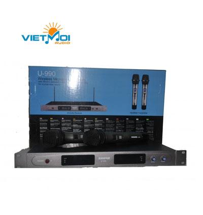 micro shure U990
