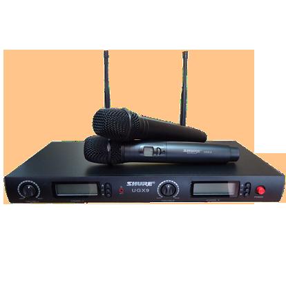 Micro shure UGX 9