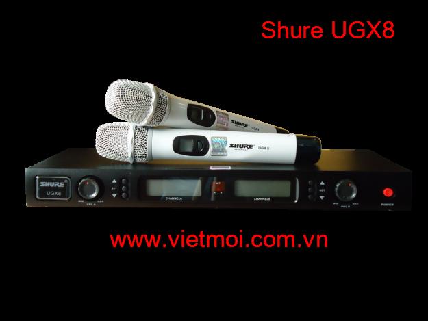 micro shure ugx8