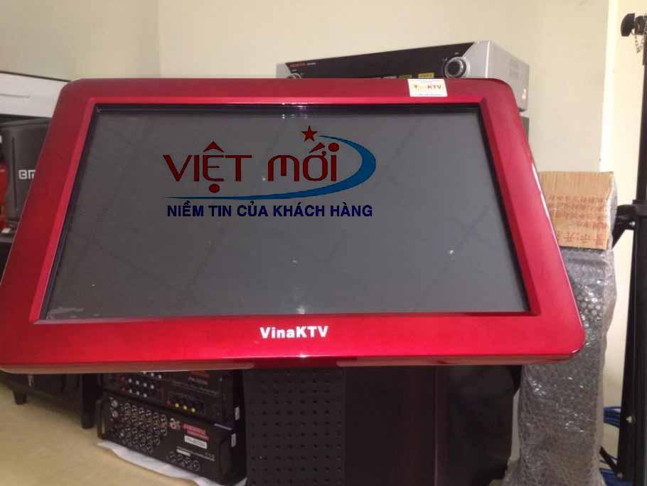 màn hình hiển thị hiện đại của KTV V6