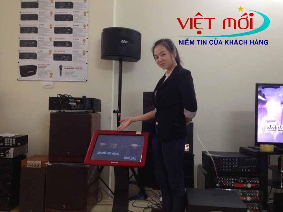 Âm thanh chuyên nghiệp cảu KTV V6
