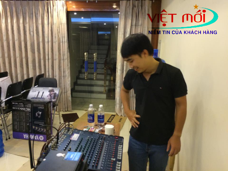 Dự án âm thanh tại tòa nhà 363 Ngọc Lâm Hà Nội