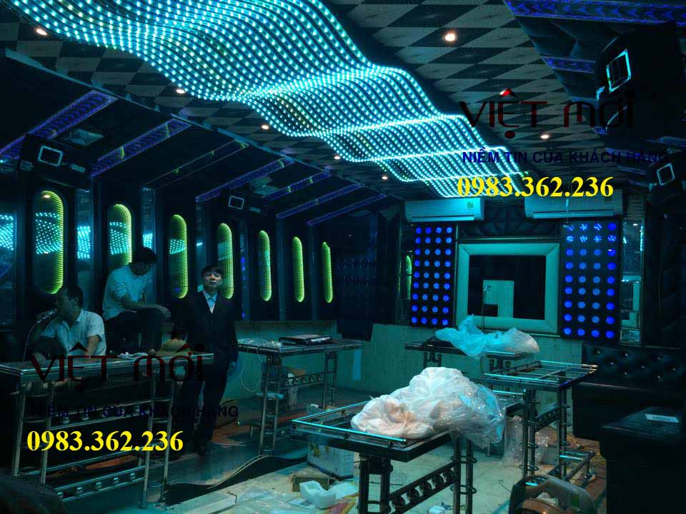 Dự án âm thanh phòng karaoke kinh doanh tại Phú Thọ