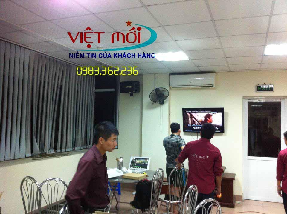 Dự án âm thanh karaoke cho viện kiểm soát Hà Nội
