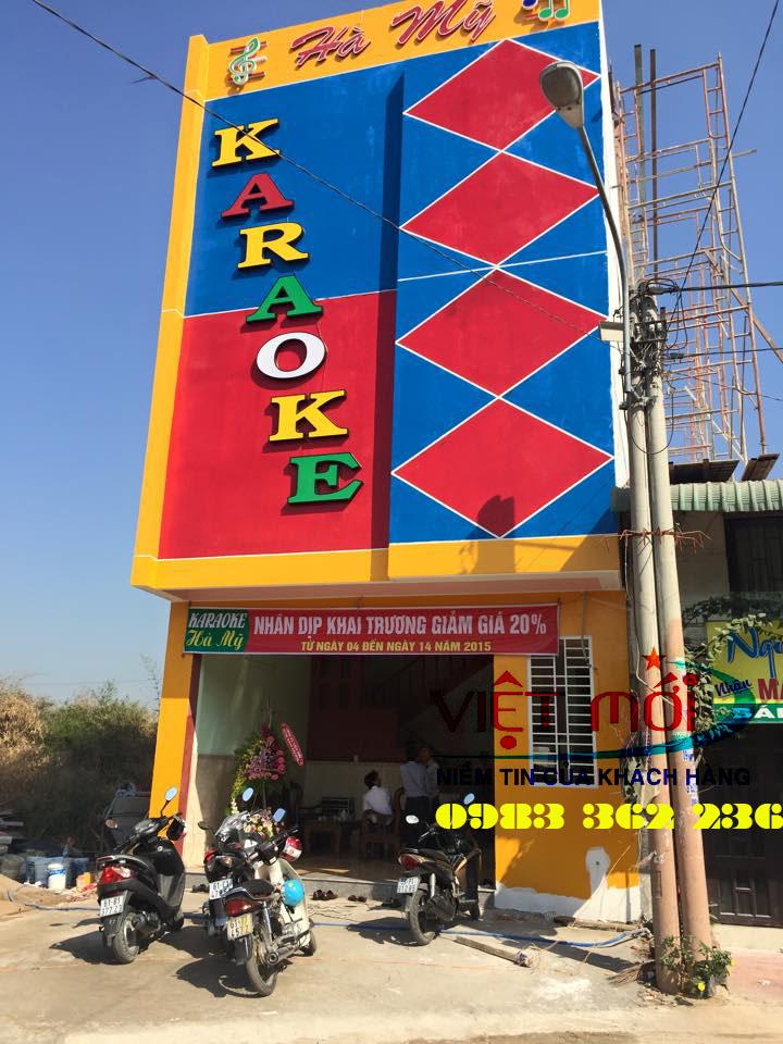 Quán karaoke sử dụng dàn karaoke của Việ Mới audio