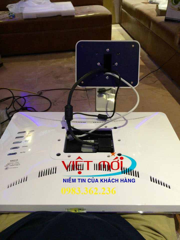 Lắp đặt đầu karaoke VietKTV 2T-6