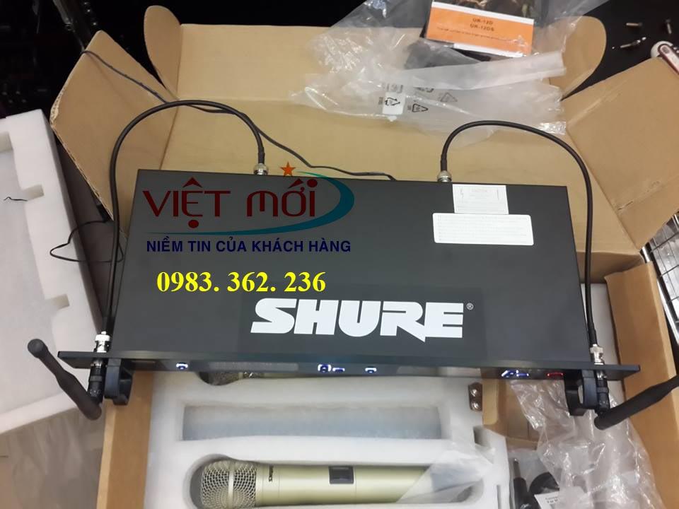 micro shure UR12D chính hãng -11