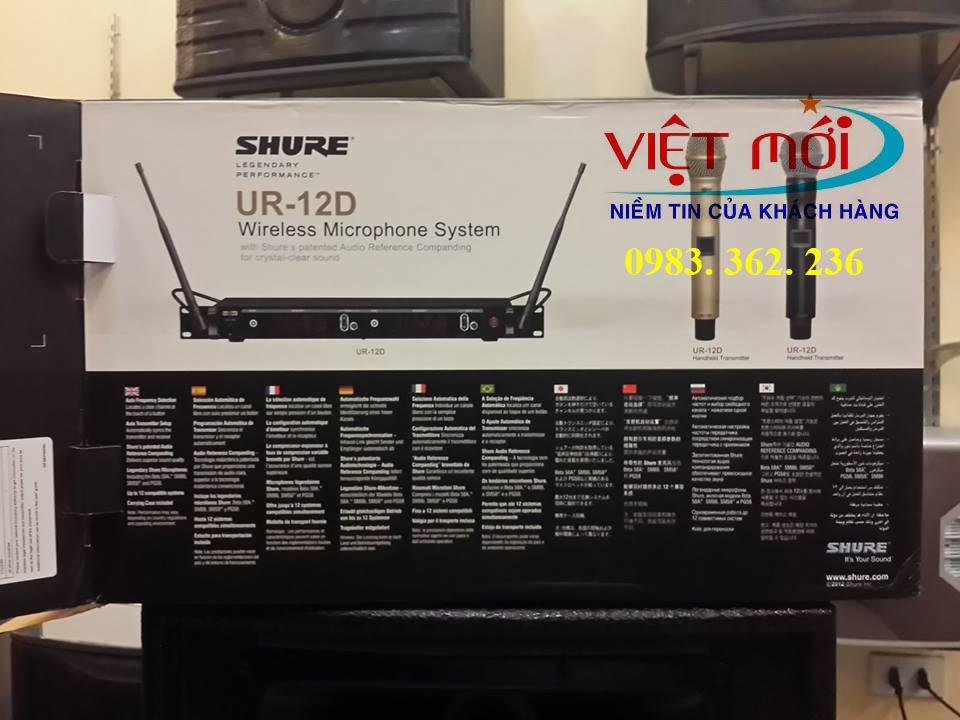 micro shure UR12D chính hãng -2