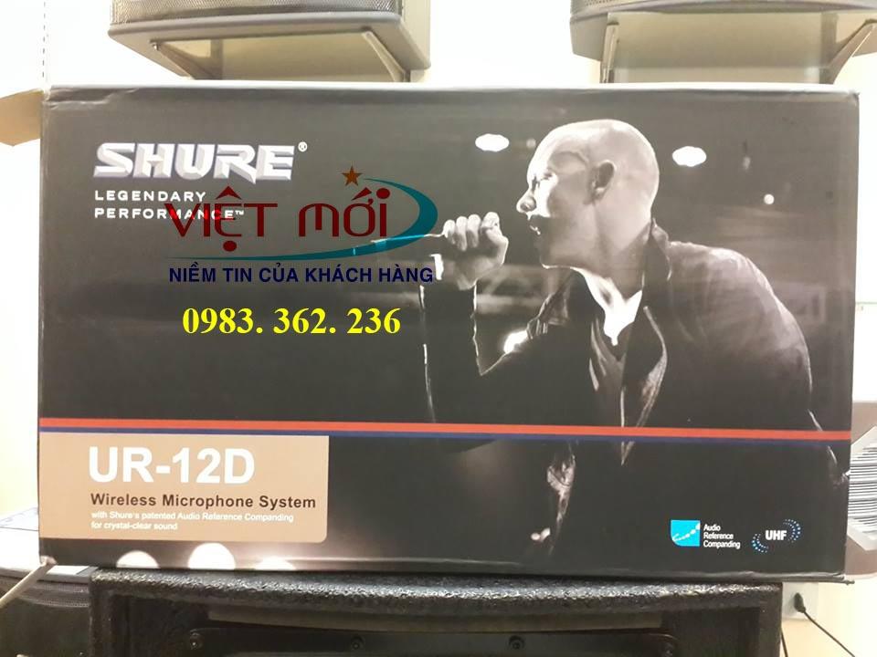 micro shure UR12D chính hãng -3