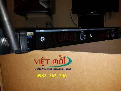 micro karaoke không dây shure UR12D