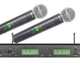 Micro karaoke shure UR4D