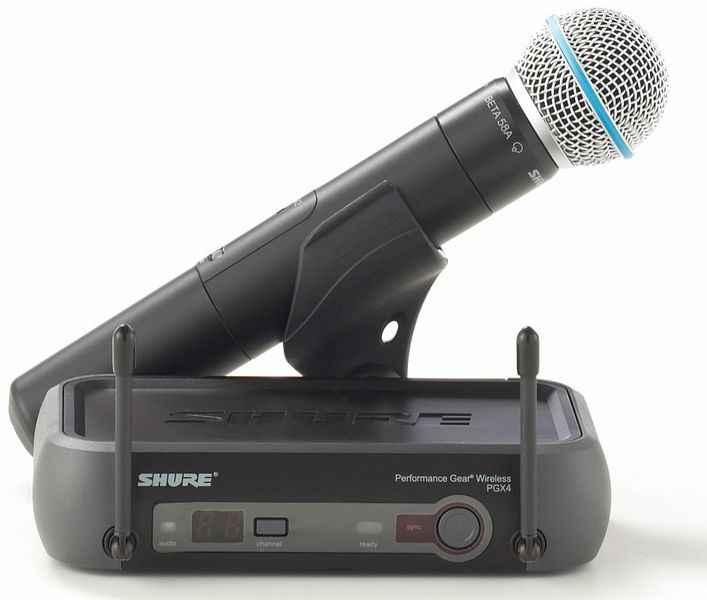 Micro không dây shure pgx24