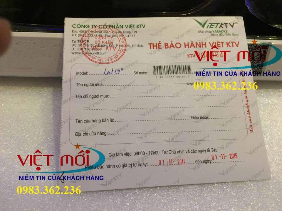 Lắp đặt đầu karaoke VietKTV 2T-4