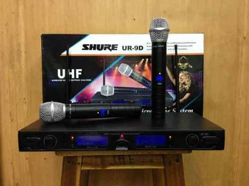 vỏ hộp shure ur9d thiết kế đẹp mắt