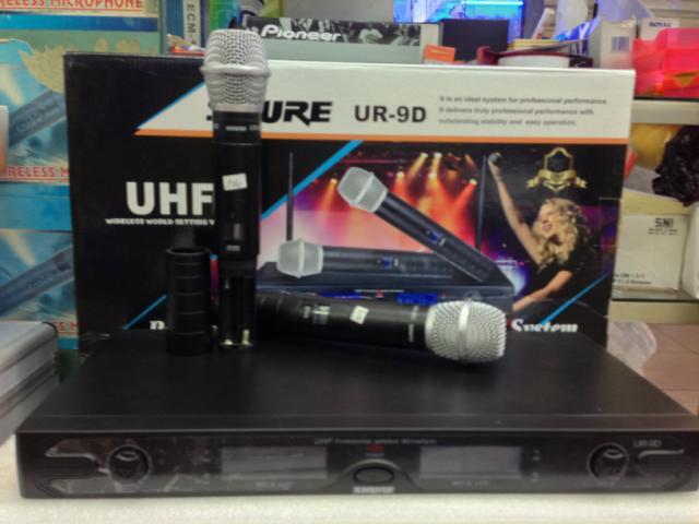 Micro shure UR9D