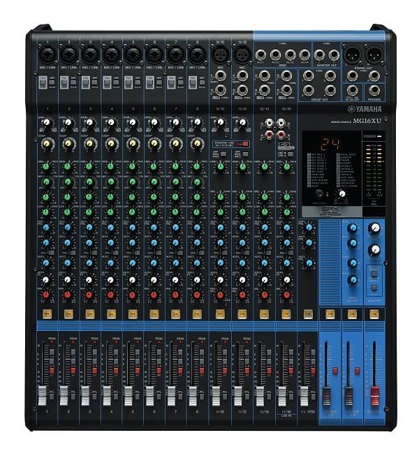 bàn mixer MG 16XU