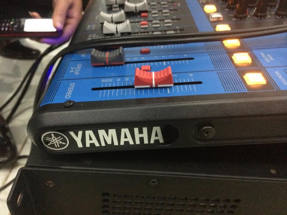 Lắp đặt mixer yamaha MG16XU 5