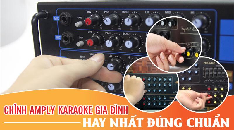 Quy trình hoạt động của amply karaoke