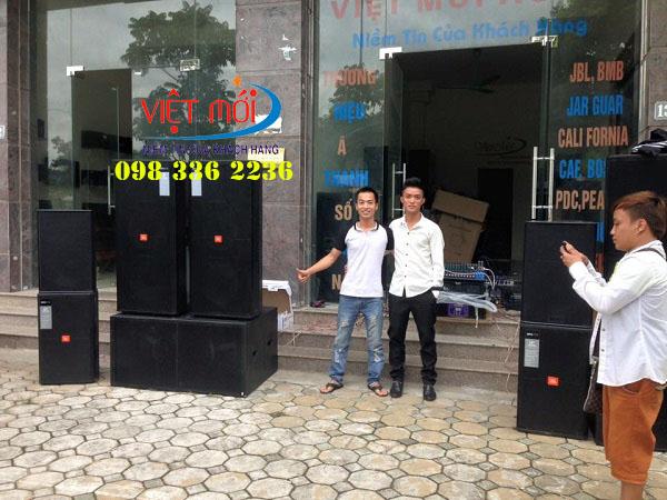 Việt Mới Audio chuyên cung cấp dàn loa đám cưới