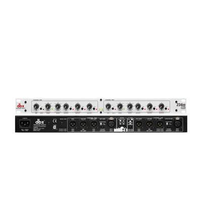 Bộ xử lý tín hiệu âm thanh cao cấp crossover dbx 234XS