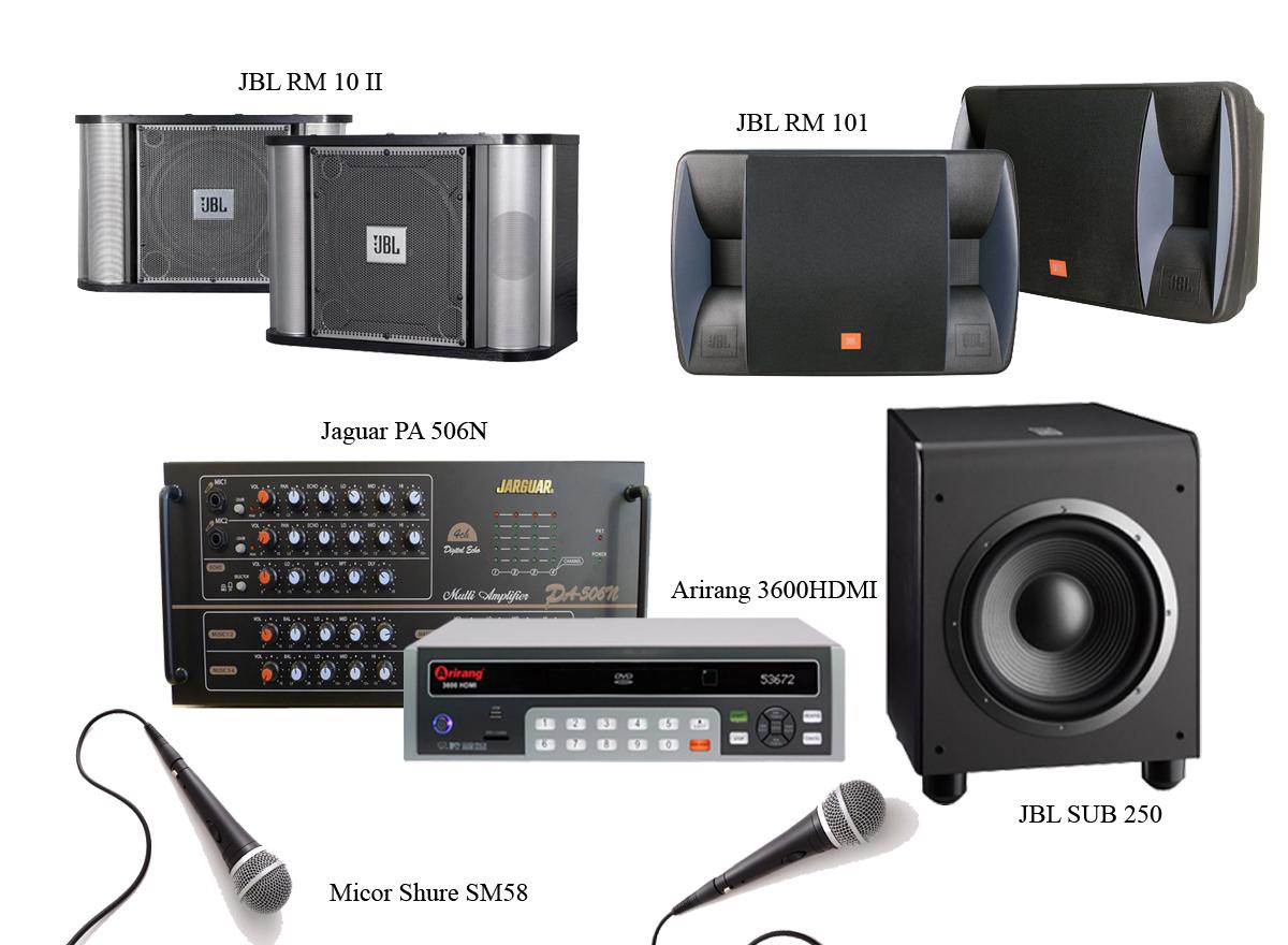 Những thiết bị cần thiết cho dàn karaoke