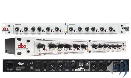 Bộ xử lý tín hiệu crossover dbx 234XS
