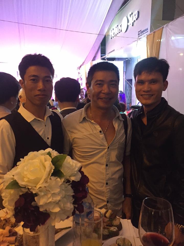 Lễ khai trương phòng trà của nhạc sỹ Chế Phong
