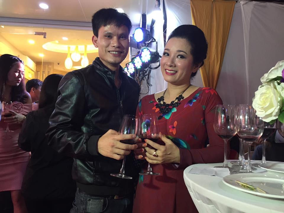 Lễ khai trương phòng trà của vợ chồng Chế Phong - Thanh Thanh Hiền