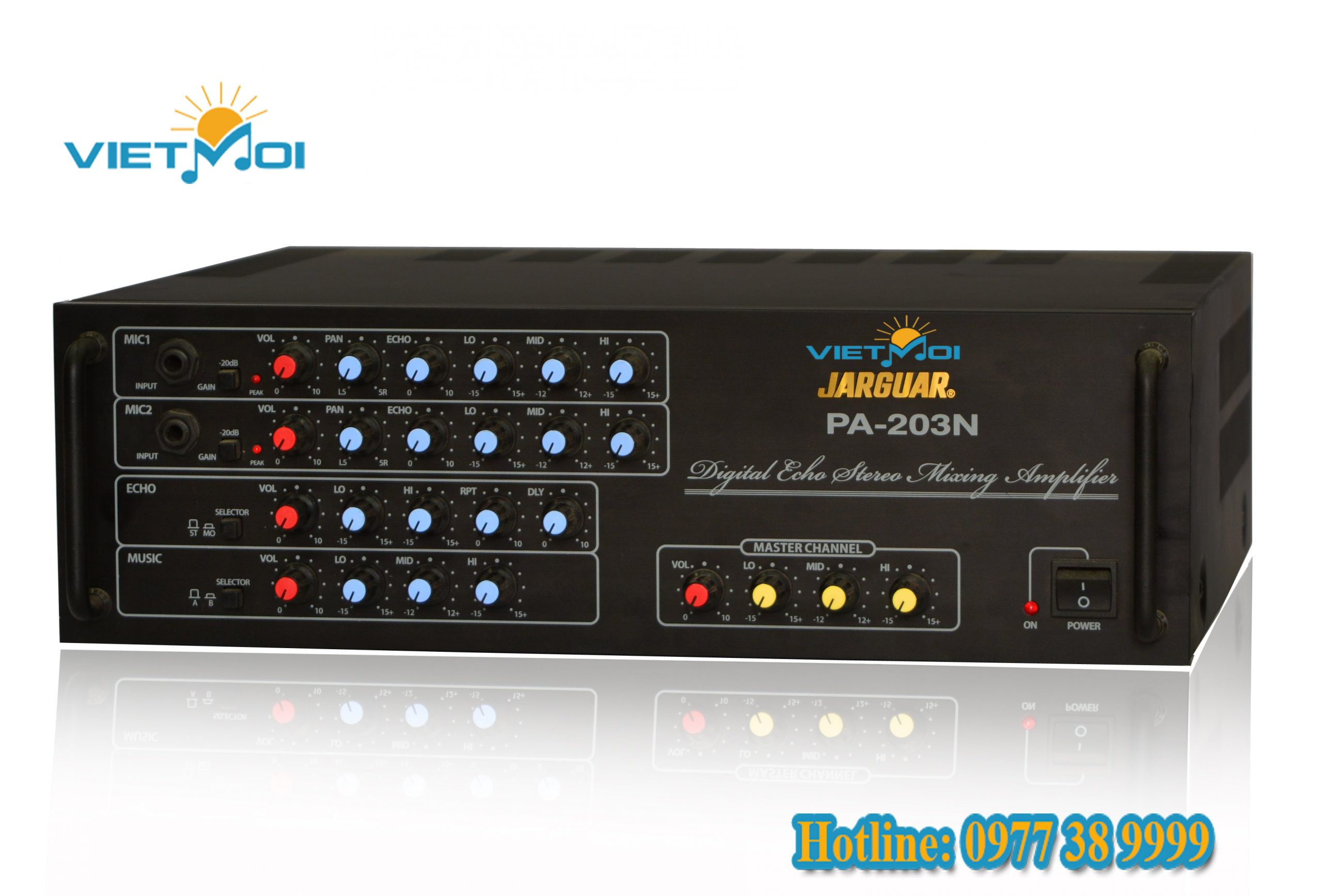 Đánh giá dòng sản phẩm Amply Jarguar 203N   Việt Mới Adudio